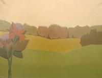 Quadro di  Alviero Tatini - Fiore Selvaggio Óleos tela