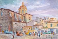 Quadro di Giovanni Ospitali  Firenze - Cestello