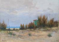 Quadro di Tullio Bartoli  Spiaggia
