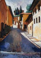Work of Luigi Pignataro  Piazza Pier Vettori - Interno Confesercenti