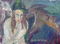 Quadro di  Silvio Loffredo - Figure huile toile