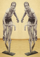 Работы  Andrea Tirinnanzi - Gino Bartali (Giro di Toscana del 1954) ???????? ?????????? ??????? стол