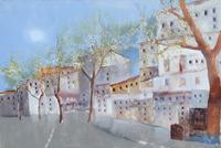 Work of Lido Bettarini  Strada di città