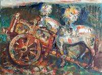 Work of Emanuele Cappello  Cavallo bianco
