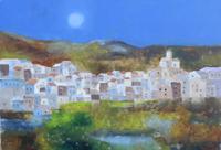 Work of Lido Bettarini  Paesaggio con case