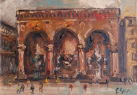 Work of Emanuele Cappello  Piazza Signoria - Firenze