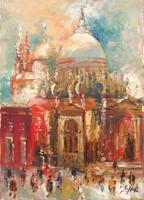 Work of Emanuele Cappello - Venezia oil canvas