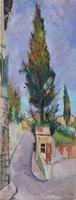 Quadro di Rodolfo Marma  Costa Scarpuccia (Firenze)
