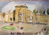 Quadro di Rodolfo Marma  Porta Romana