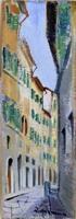 Quadro di Rodolfo Marma  Via della Vigna Vecchia - Firenze
