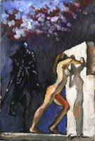 Work of Luigi Pignataro  Nudo e Cavaliere