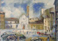 Work of Emanuele Cappello  Piazza Ognissanti
