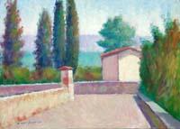 Work of Dino Migliorini  Paesaggio toscano