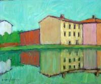 Work of Dino Migliorini  Paesaggio riflesso