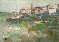 Quadro di  Emanuele Cappello - Marina Óleos tela