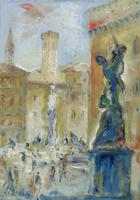 Work of Emanuele Cappello  Piazza Signoria a Firenze