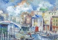 Work of Emanuele Cappello  San Simeon Piccolo sul Canal Grande