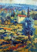 Work of Luigi Pignataro  Campagna Toscana