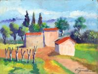 Work of Luigi Pignataro  Paesaggio