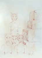 Work of Luigi Pignataro  Figure oniriche