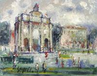 Work of Emanuele Cappello  Piazza Libertà