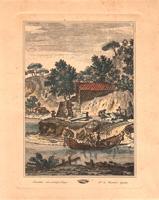 Quadro di   Antiquariato - Marina lithographie papier