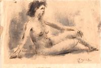 Ermanno Toschi  - Nudo