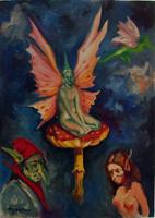 Work of Luigi Pignataro  Le fatine