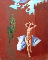 Work of Luigi Pignataro  Nudo con conchiglia