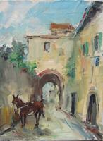 Work of Gino Tili  In paese
