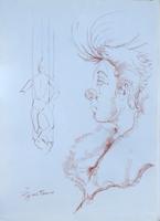 Work of Luigi Pignataro  Clown e marionetta