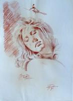 Work of Luigi Pignataro  Volto di donna
