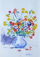 Work of Luigi Pignataro  Vaso di fiori