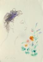 Work of Luigi Pignataro  Figura con fiori
