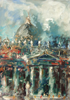 Work of Emanuele Cappello  San Pietro a Roma