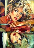 Work of Luigi Pignataro  Riflesso di donna
