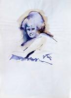 Work of Gino Tili  Figura femminile