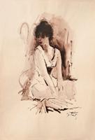Work of Gino Tili  Figura di donna