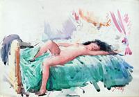 Work of Gino Tili  Donna distesa
