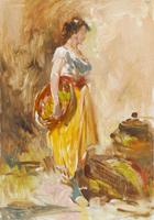 Work of Aldo Affortunati  Figura di donna