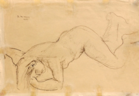 Quadro di Rodolfo Marma  Studio di figura