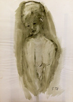 Work of Gino Tili  Nudo