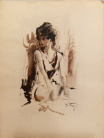 Work of Gino Tili  Ragazza