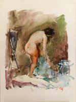 Work of Gino Tili  Il bagno