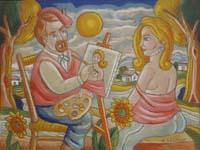 Il pittore e la modella