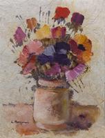 Work of Luciano Pasquini  Vaso di fiori