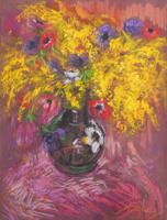 Giorgio Verzani - Mimosa e anemoni