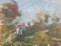 Quadro di Norberto Martini  Paesaggio