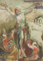 Work of Emanuele Cappello  Crocifissione
