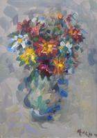 Work of Enzo Pregno  Composizione di fiori